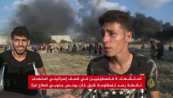 شهداء وجرحى بغزة بعد التصعيد